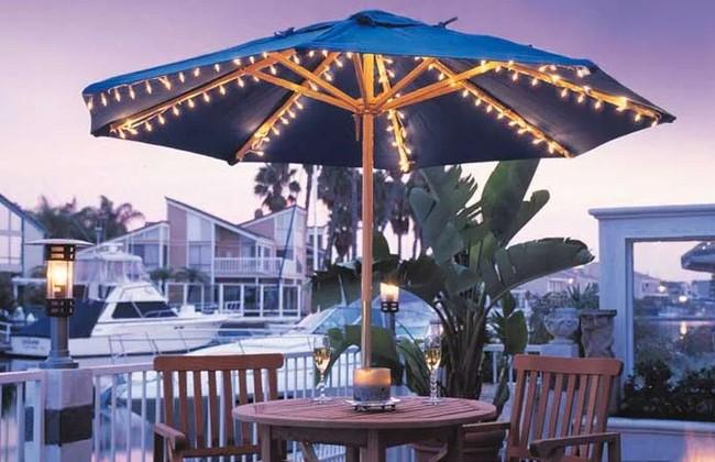 4 Incredible Choices for Outdoor patio Outdoor umbrella Lighting