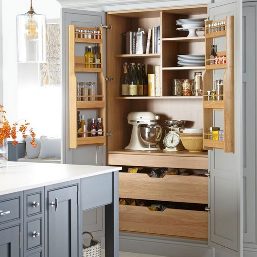 Press Storage space Cupboards as well as your House