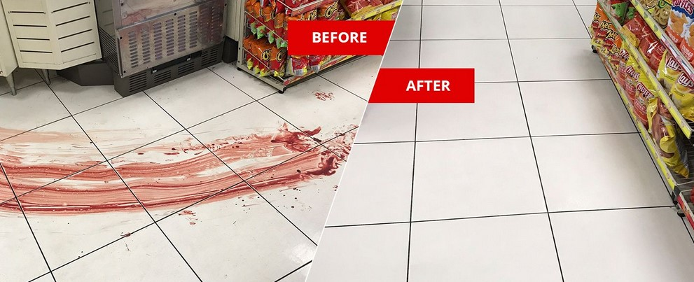 What Steps Are Required for Cleaning Up Blood?